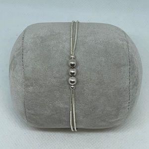 "Sterling Silver 9"" Chain Bracelet"